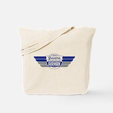 Proud Grandma of an Airman Tote Bag
