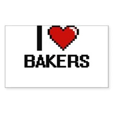 I love Bakers Decal