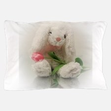 Cute Easter tulips Pillow Case