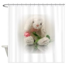 Cute Easter basket Shower Curtain