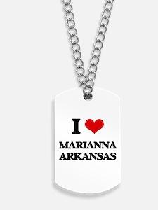 I love Marianna Arkansas Dog Tags