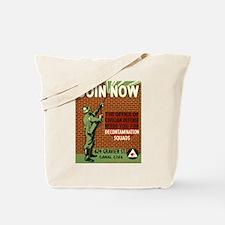 DECONTAMINATION canvas bag