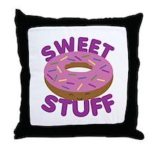 Sweet Stuff Throw Pillow