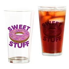 Sweet Stuff Drinking Glass