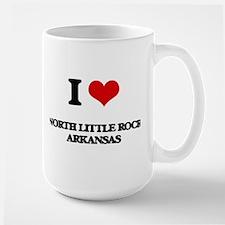 I love North Little Rock Arkansas Mugs