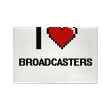 I love Broadcasters Magnets
