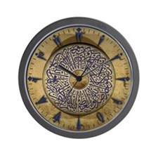 Wall Clock with Turkish Calligraphy & Old Turkish