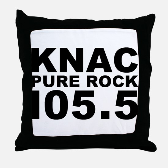PURE ROCK KNAC Throw Pillow