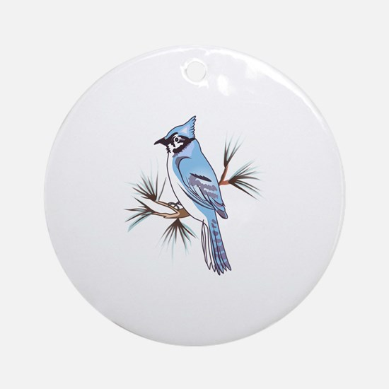 BLUEJAY Ornament (Round)