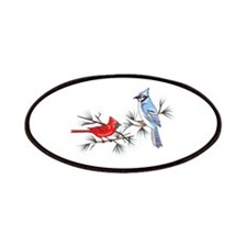 BLUEJAY AND CARDINAL Patch