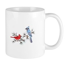 BLUEJAY AND CARDINAL Mugs