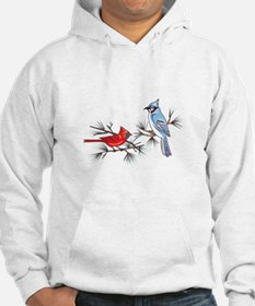 BLUEJAY AND CARDINAL Hoodie