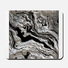 bold strong marbling metal texture Mousepad