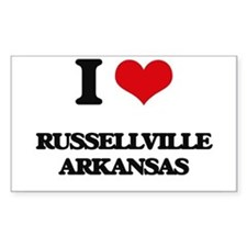 I love Russellville Arkansas Decal