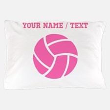 Pink Volleyball (Custom) Pillow Case
