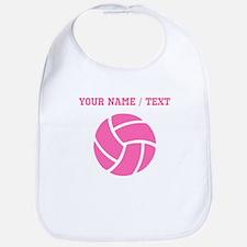 Pink Volleyball (Custom) Bib
