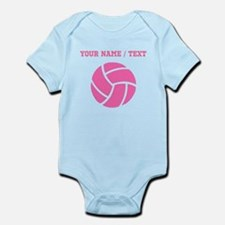 Pink Volleyball (Custom) Body Suit