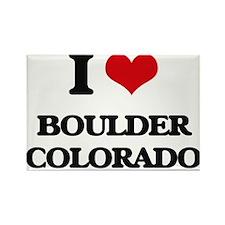 I love Boulder Colorado Magnets