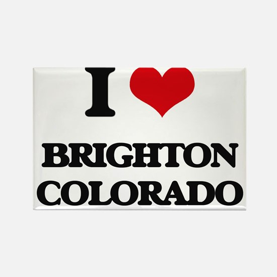 I love Brighton Colorado Magnets