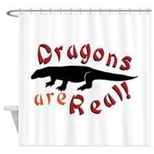 Dragons Are Real Shower Curtain
