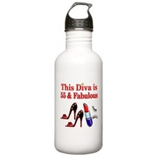 DAZZLING 55TH Water Bottle