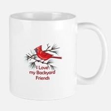 BACKYARD FRIENDS Mugs