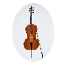 Cello Ornament (Oval)