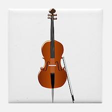 Cello Tile Coaster