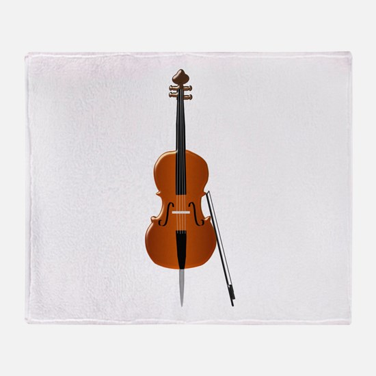Cello Throw Blanket