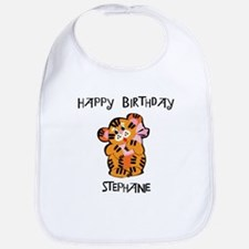 Happy Birthday Stephanie (tig Bib