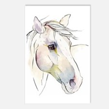 White Horse Eyes Postcards (Package of 8)