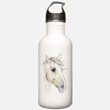 White Horse Eyes Water Bottle