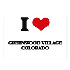 I love Greenwood Village Postcards (Package of 8)