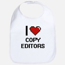 I love Copy Editors Bib