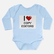 I love Copy Editors Body Suit