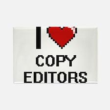 I love Copy Editors Magnets