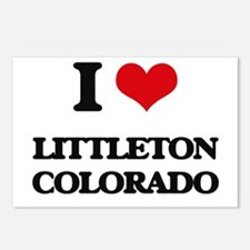 I love Littleton Colorado Postcards (Package of 8)