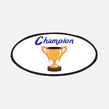 TROPHY CUP CHAMPION Patch