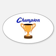 TROPHY CUP CHAMPION Decal
