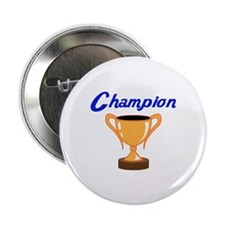 """TROPHY CUP CHAMPION 2.25"""" Button (10 pack)"""