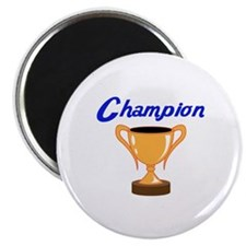 TROPHY CUP CHAMPION Magnets