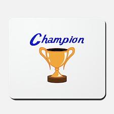 TROPHY CUP CHAMPION Mousepad