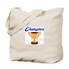 TROPHY CUP CHAMPION Tote Bag