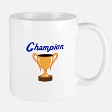 TROPHY CUP CHAMPION Mugs