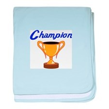 TROPHY CUP CHAMPION baby blanket