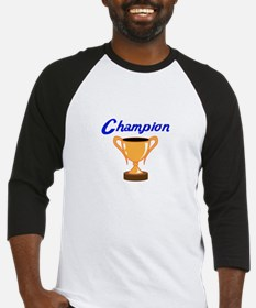 TROPHY CUP CHAMPION Baseball Jersey