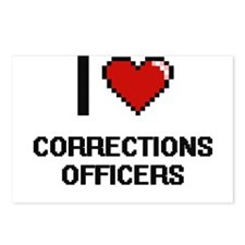 I love Corrections Office Postcards (Package of 8)