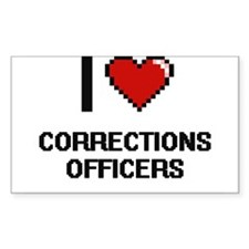 I love Corrections Officers Decal