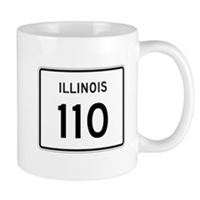 Route 110, Illinois Mug