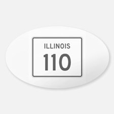 Route 110, Illinois Decal